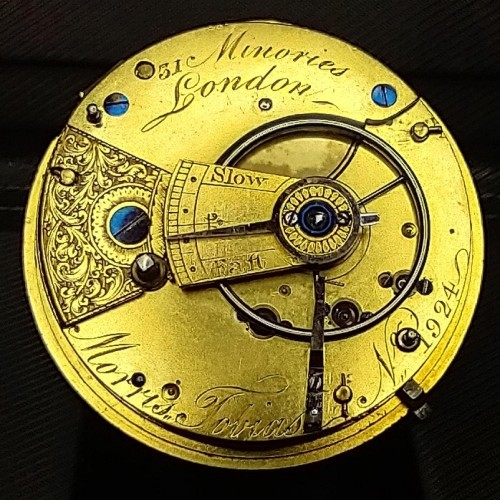 Other Grade Morris Tobias Pocket Watch Image