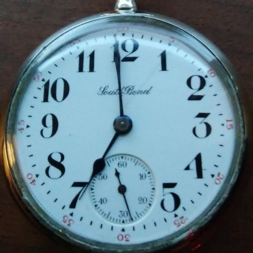South Bend Grade 305 Pocket Watch Image