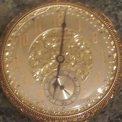 Hamilton Grade 916 Pocket Watch Image