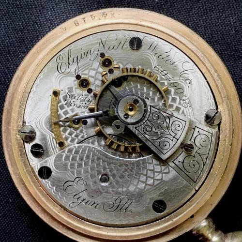Elgin Grade 146 Pocket Watch Image