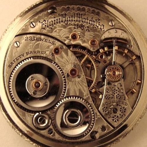Elgin Grade 194 Pocket Watch Image