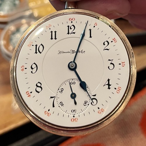 Illinois Grade 176 Pocket Watch Image