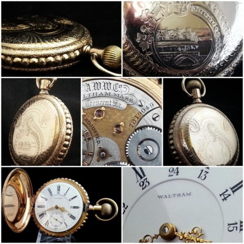 Waltham pocket watch serial number hookup