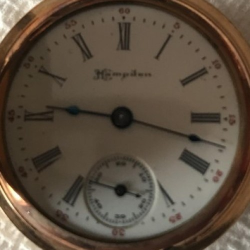 Hampden Grade Diadem Pocket Watch Image