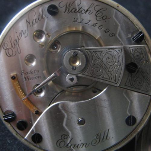 Elgin Grade 43 Pocket Watch Image