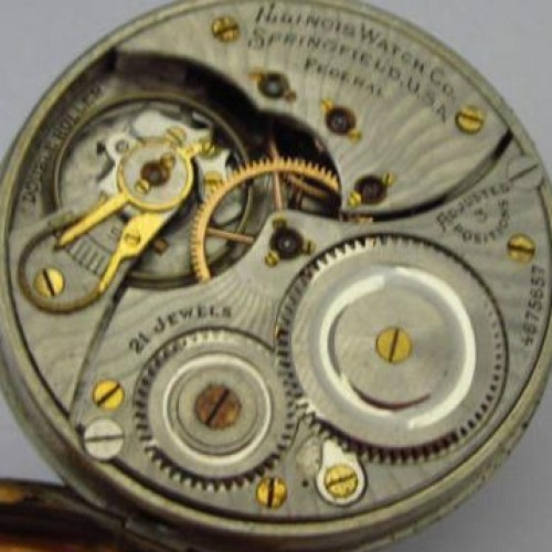 Illinois Grade 806 Pocket Watch Image