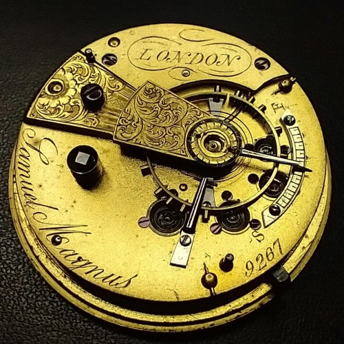 Other Grade Samuel Magnus Pocket Watch Image