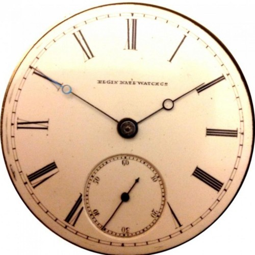 Elgin Grade 80 Pocket Watch Image
