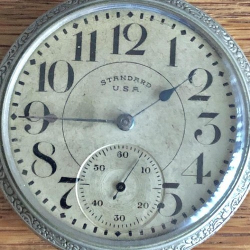 New York Standard Watch Co. Grade BC Pocket Watch Image