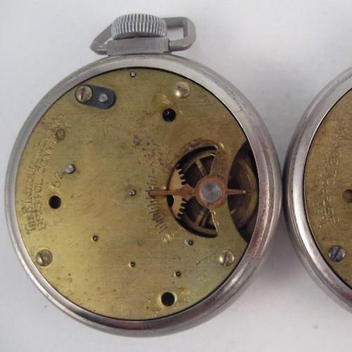 E. Ingraham Co. Grade Sentinel Click (dollar watch) Pocket Watch Image