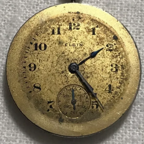 Elgin Grade 431 Pocket Watch Image