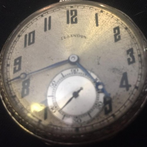 Illinois Grade 404 Pocket Watch Image