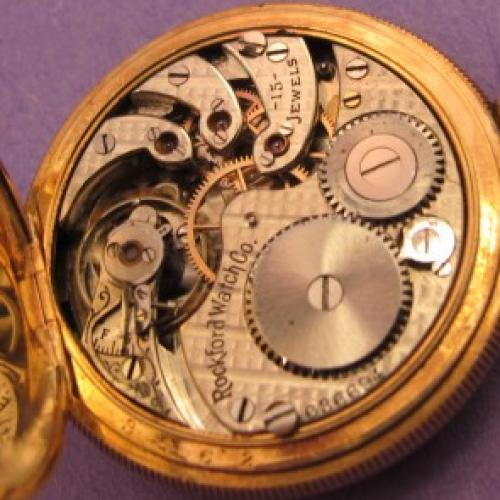 Rockford Grade 160 Pocket Watch Image