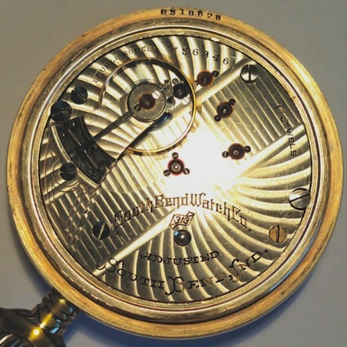 South Bend Grade 313 Pocket Watch Image