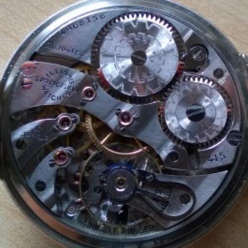Illinois Grade 415 Pocket Watch Image