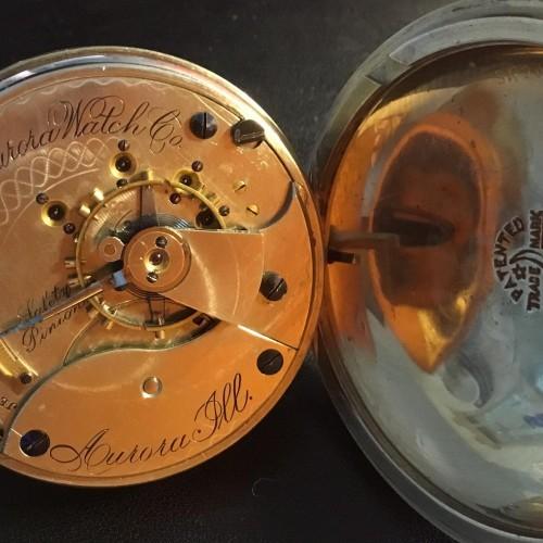 Aurora Watch Co. Grade Unknown Pocket Watch Image