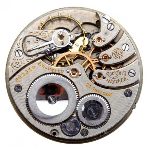 Rockford Grade 520 Pocket Watch Image