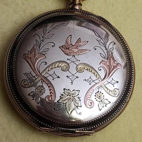 Elgin Grade 242 Pocket Watch Image