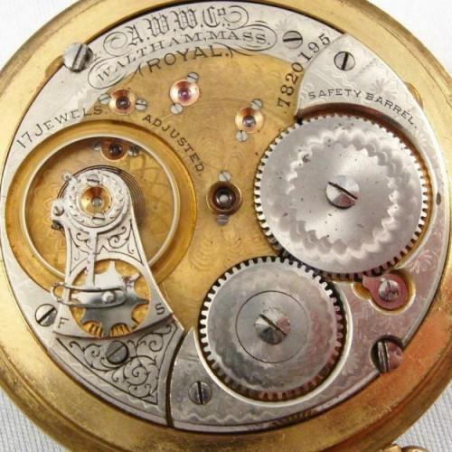 Waltham Grade Crescent St. Pocket Watch