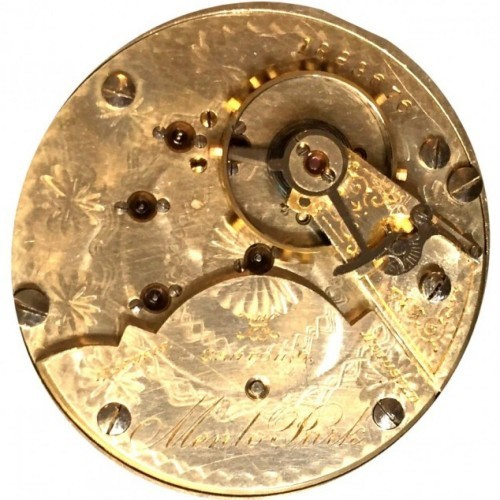 Hampden Grade Menlo Park Pocket Watch Image