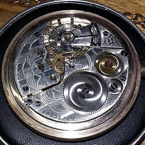 Elgin Grade 313 Pocket Watch Image