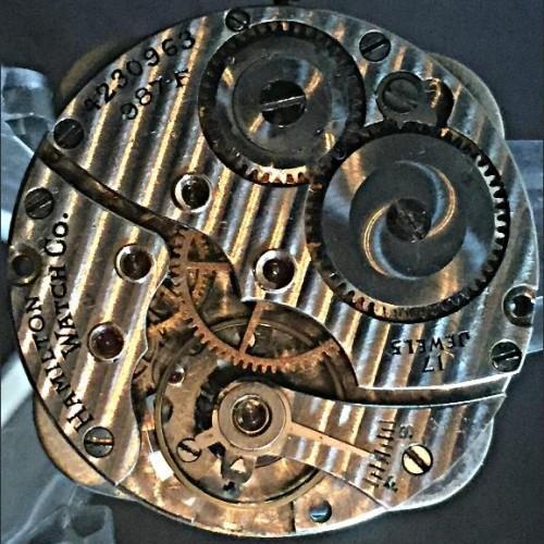 Hamilton Grade 987F Pocket Watch Image