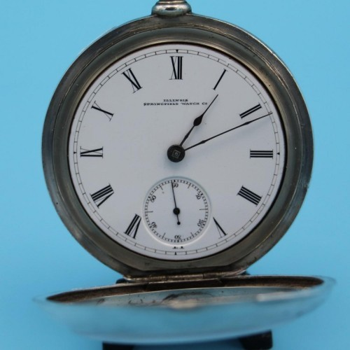 Illinois Grade Miller Pocket Watch Image