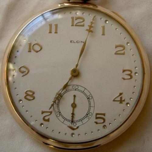 Elgin Grade 450 Pocket Watch