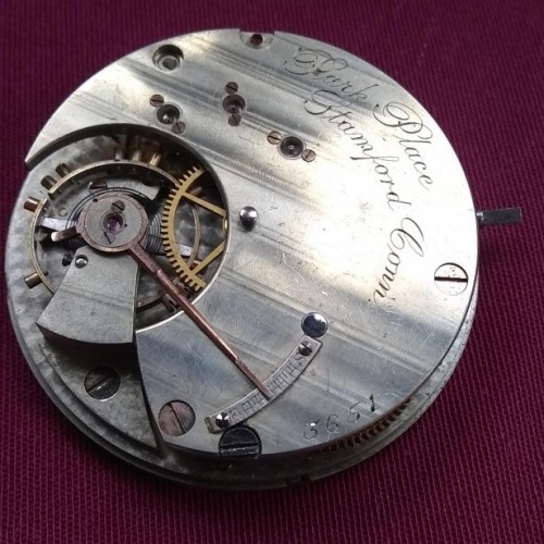 Hampden Grade State Street Pocket Watch Image