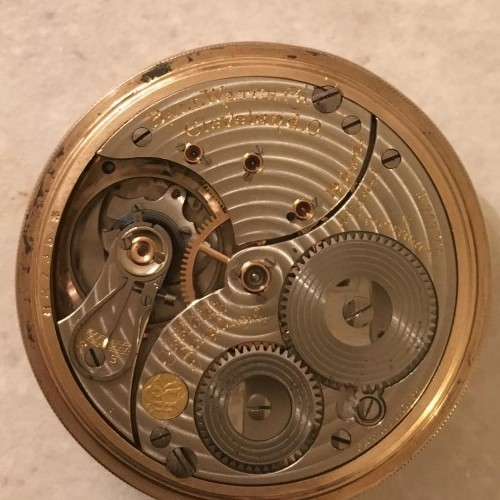 Image of Ball - Waltham Official Standard #B262758 Movement
