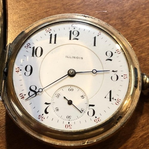 Illinois Grade 303 Pocket Watch Image