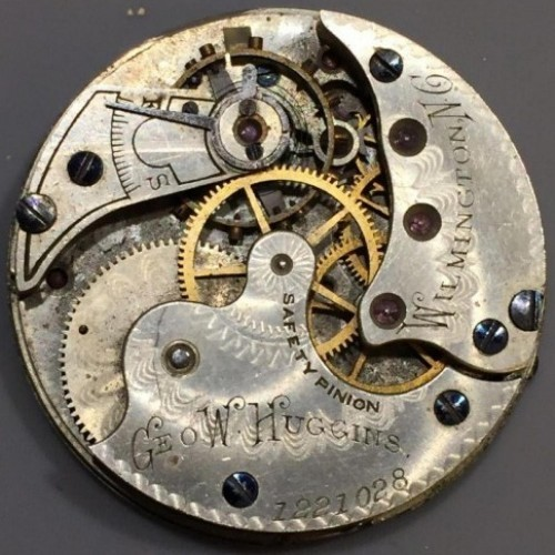 Illinois Grade 142 Pocket Watch Image