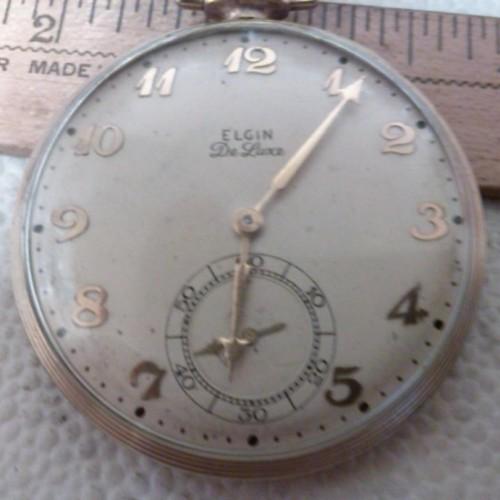 Elgin Grade 542 Pocket Watch Image