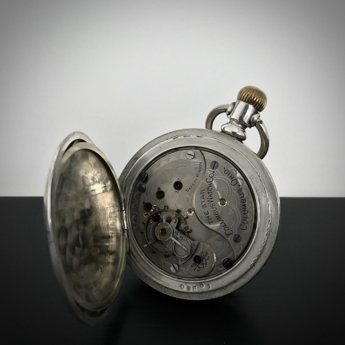 Columbus Watch Co. Grade The Star Pocket Watch Image