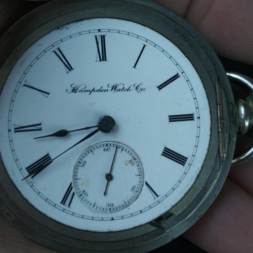 Image of Hampden No. 31 #102791 Dial