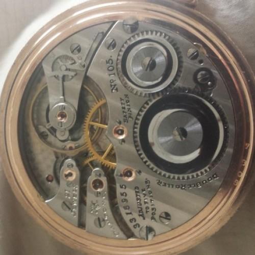 Hampden Grade No. 105 Pocket Watch Image