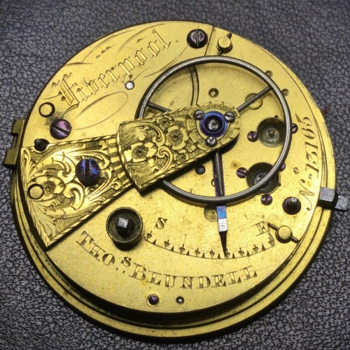 Other Grade Tho Blundell Pocket Watch Image