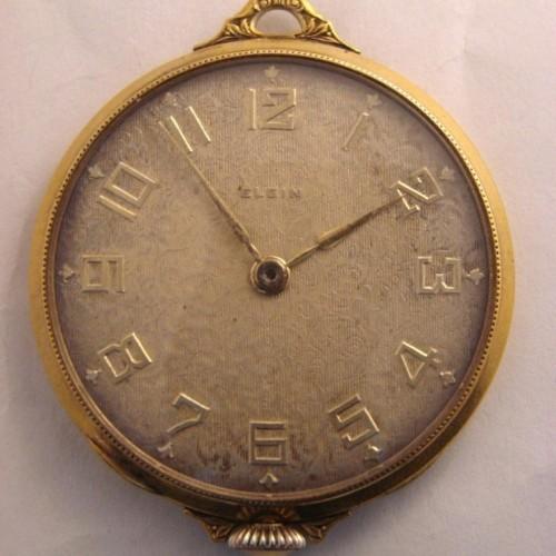 Elgin Grade 446 Pocket Watch Image