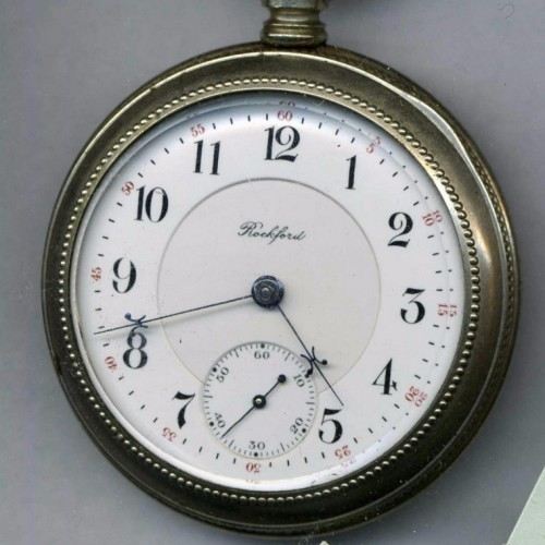 Rockford Grade Unknown Pocket Watch Image