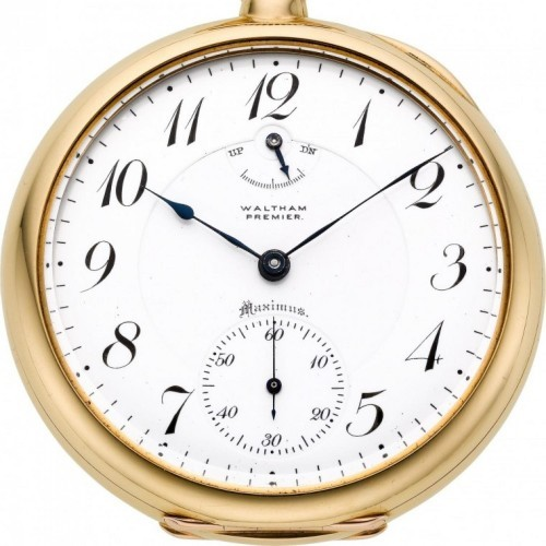 Waltham Grade Premier Maximus Pocket Watch Image