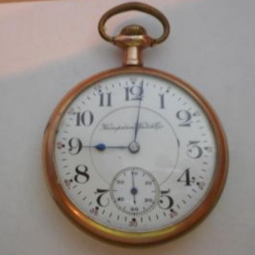 Hampden Grade Wm. McKinley Pocket Watch Image