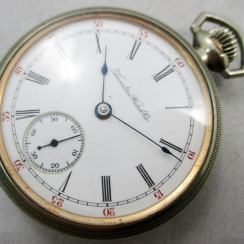 Hamilton Grade 924 Pocket Watch Image