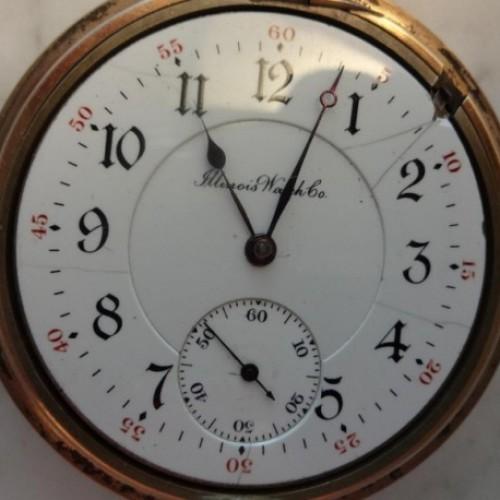 Illinois Grade 185 Pocket Watch