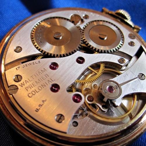 Waltham Grade No. 217 Pocket Watch Image