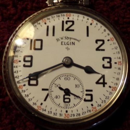 Elgin Grade 571 Pocket Watch Image