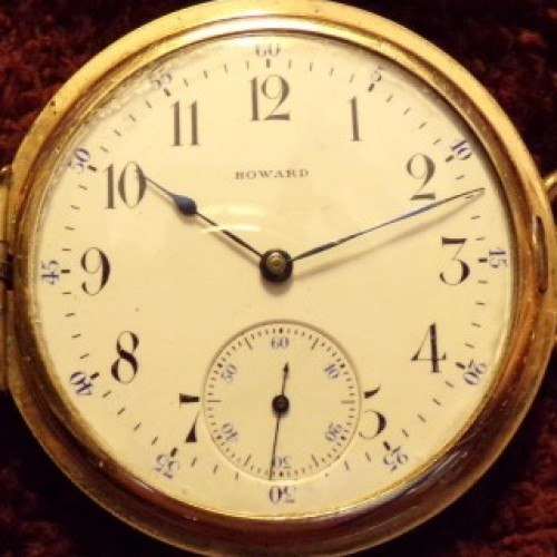 Image of E. Howard Watch Co. (Keystone) Series 3 #944635 Dial