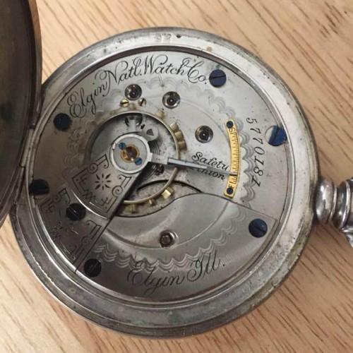 Elgin Grade 102 Pocket Watch Image
