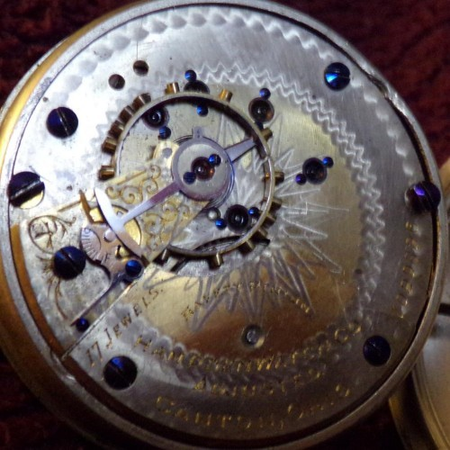 Hampden Grade 3 Ball Pocket Watch Image