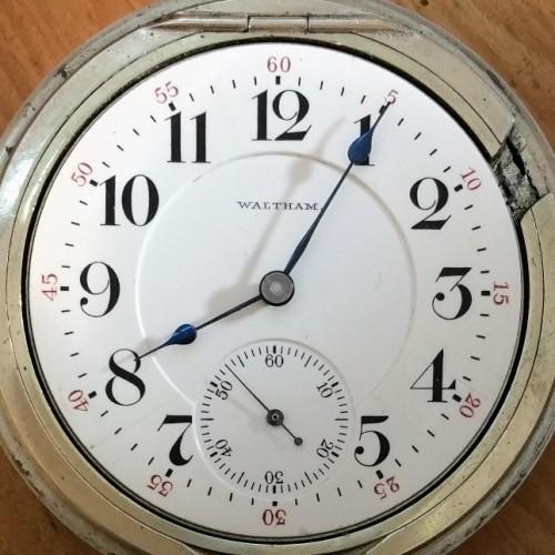 Waltham Grade A.T. & Co. Pocket Watch