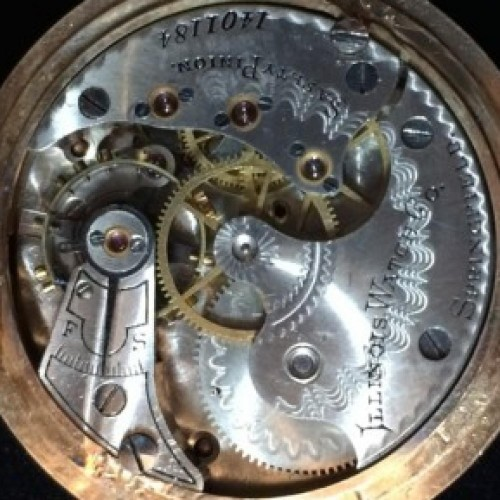 Illinois Grade 162 Pocket Watch Image
